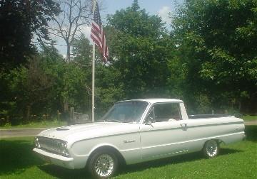 1962 Falcon convertible
