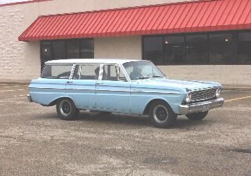 1964 Falcon station wagon