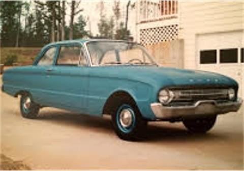 1961 Falcon Tudor